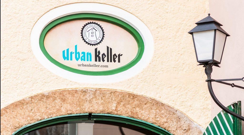 Eingangsbereich des Urbankellers