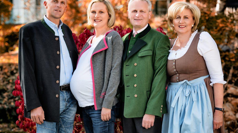 Familienbild Wellnesshotel Eggerwirt