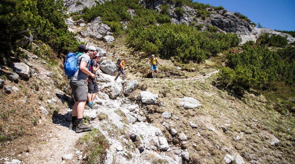 Wanderung zur Passauer Hütte - Leogang