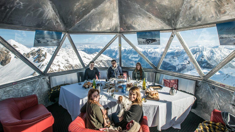 Gipfelfrühstück am Kreuzkogel im Gasteinertal
