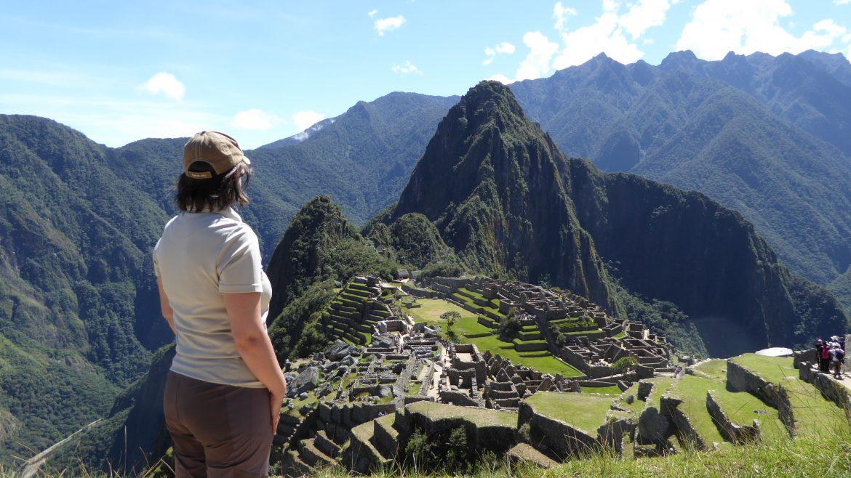 Gudrun Krinzinger in Peru