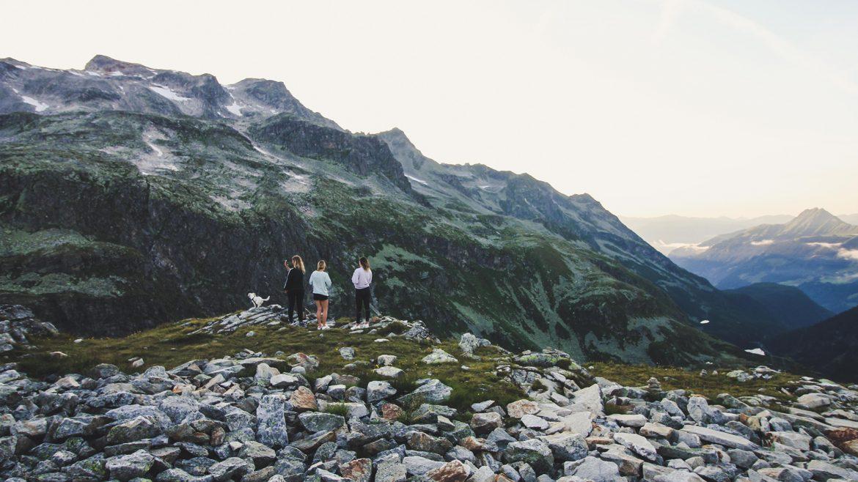 Angie, Stefanie und Julia in Uttendorf