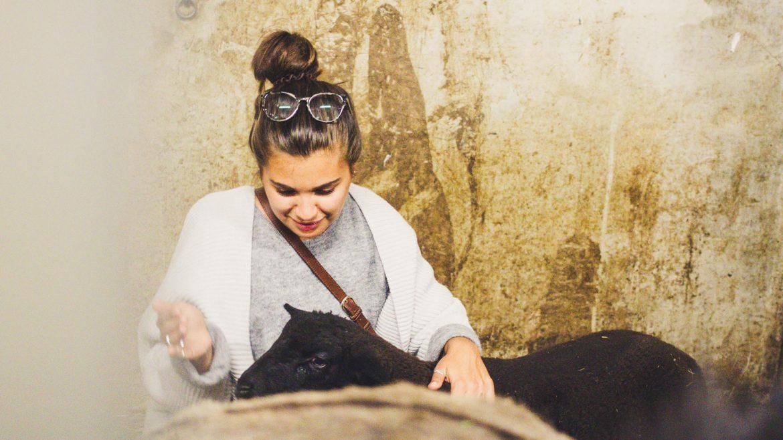 Madeleine zu Besuch beim Löckerwirt