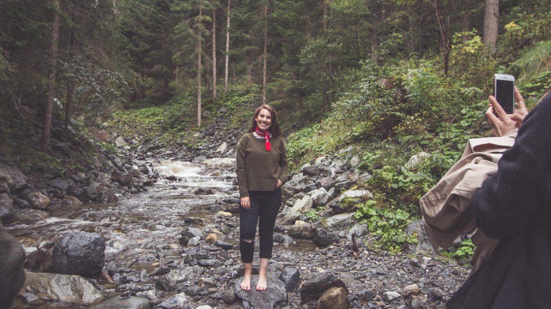 Talisa Minoush am Wasserweg Leisnitz