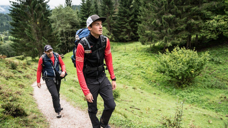 Thorsten und Marius am Weg zum Birnbachloch