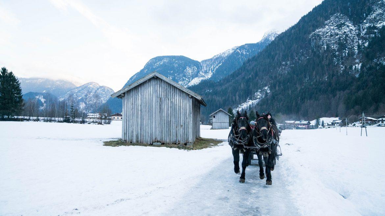 Pferdekutschenfahrt in Lofer