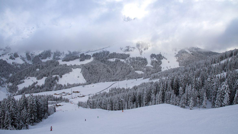 Schneelandschaft in der Region Hochkönig