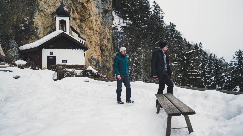 Winterwanderung zur Einsiedelei