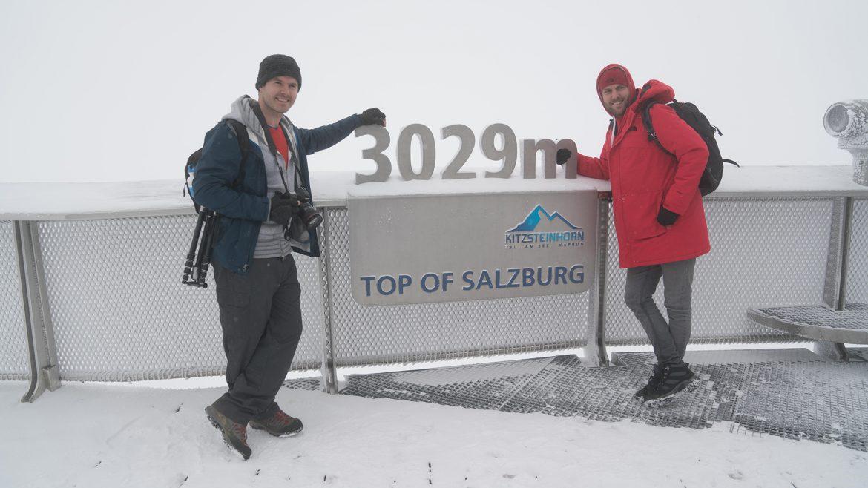 Mike und Ben am Kitzsteinhorn