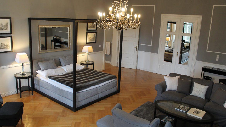 Hotelzimmer Villa Trapp Salzburg Aigen