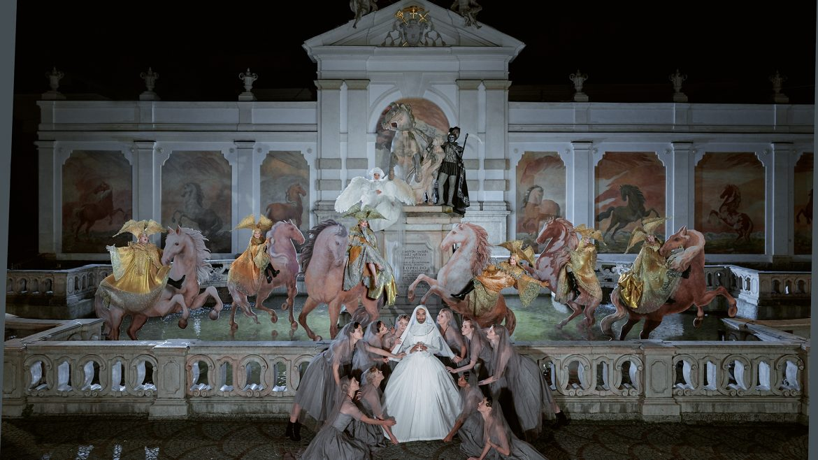 Life Ball Style Bible Sound of Music Shooting Pferdeschwemme Salzburg