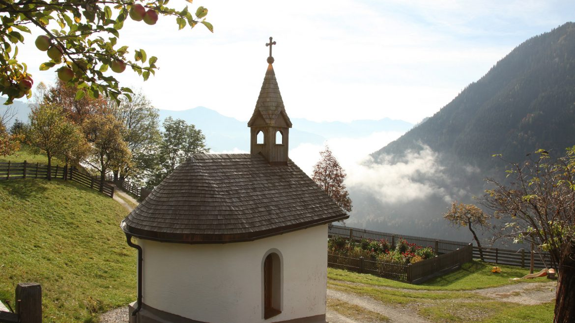 Chapel on the Anton Faistauer Adventure Trail in Maishofen