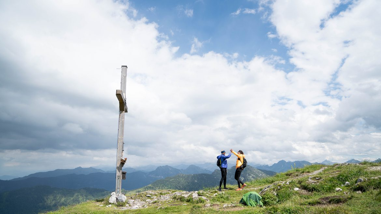 Gipfelsieg am Lackenkogel