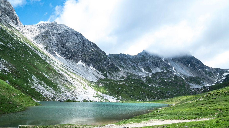 Bergsee in Flachau