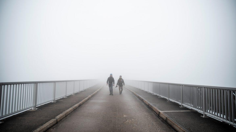 Jesper und Kenneth bei den Kaprun Hochgebirgsstauseen