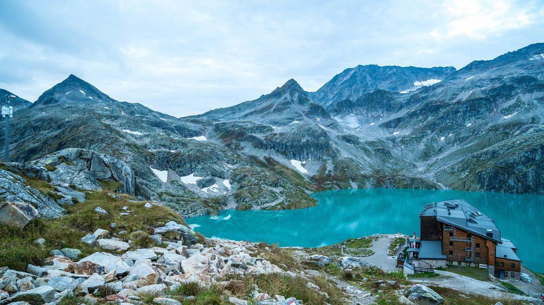 Rudolfshütte in der Weißsee Gletscherwelt