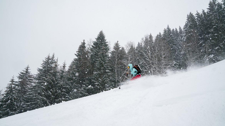 Freeriden in Hochkönig