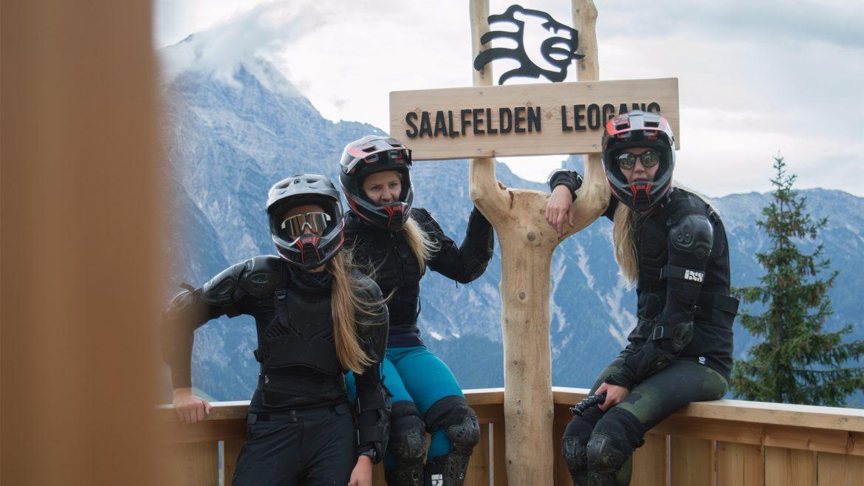 Downhill-Biken in Leogang