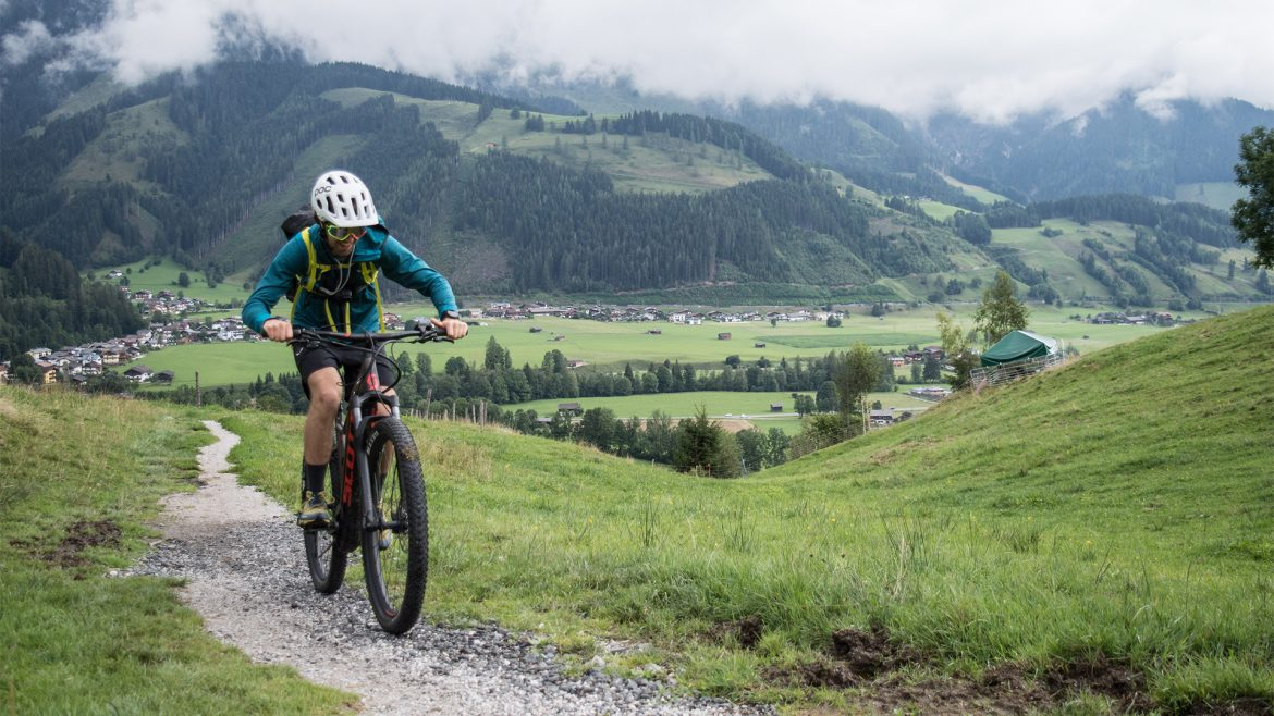 E-Mountainbike-Tour nach Saalfelden