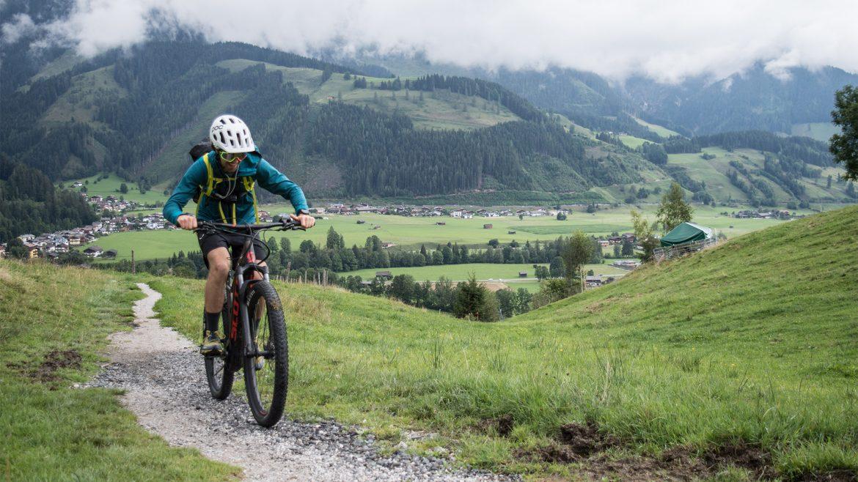 E-Mountainbike-Tour nach Saalfelden