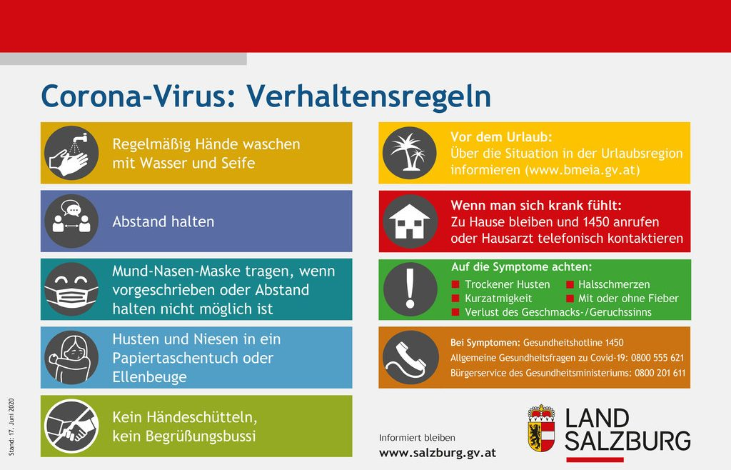 Corona-Virus (c)Land Salzburg
