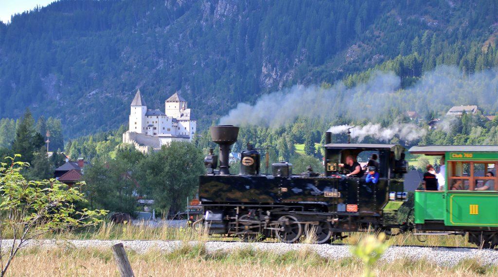Die Taurachbahn bei einer ihrer Fahrten