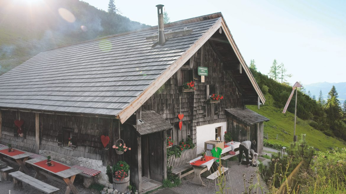 The Loseggalm is a certified Alpine Summer Hut