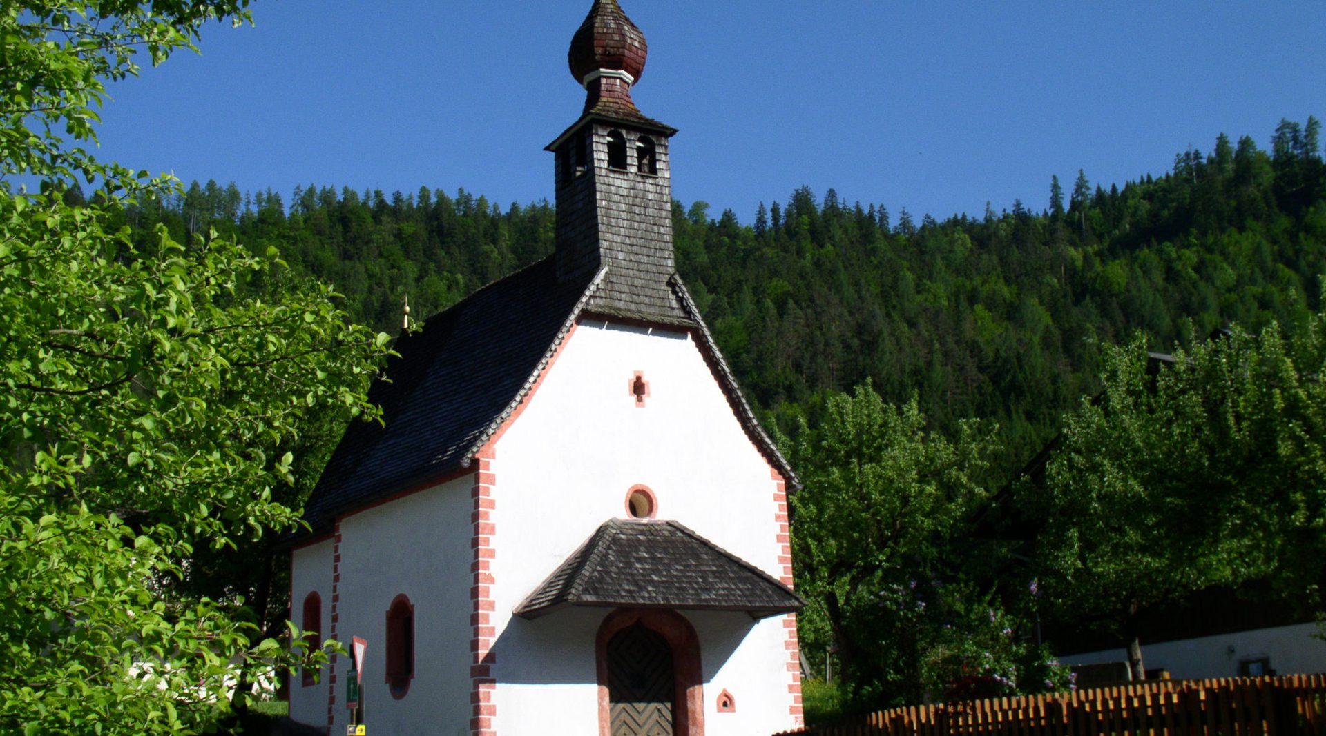 Kapelle am Jakobsweg bei Reit