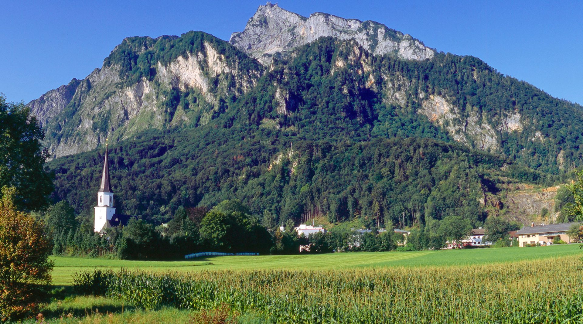 Grödig and the Untersberg