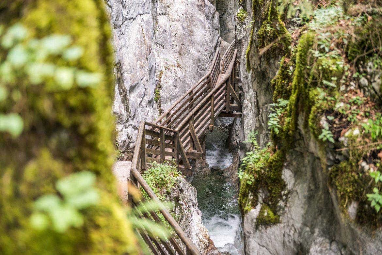 Seisenberg gorge
