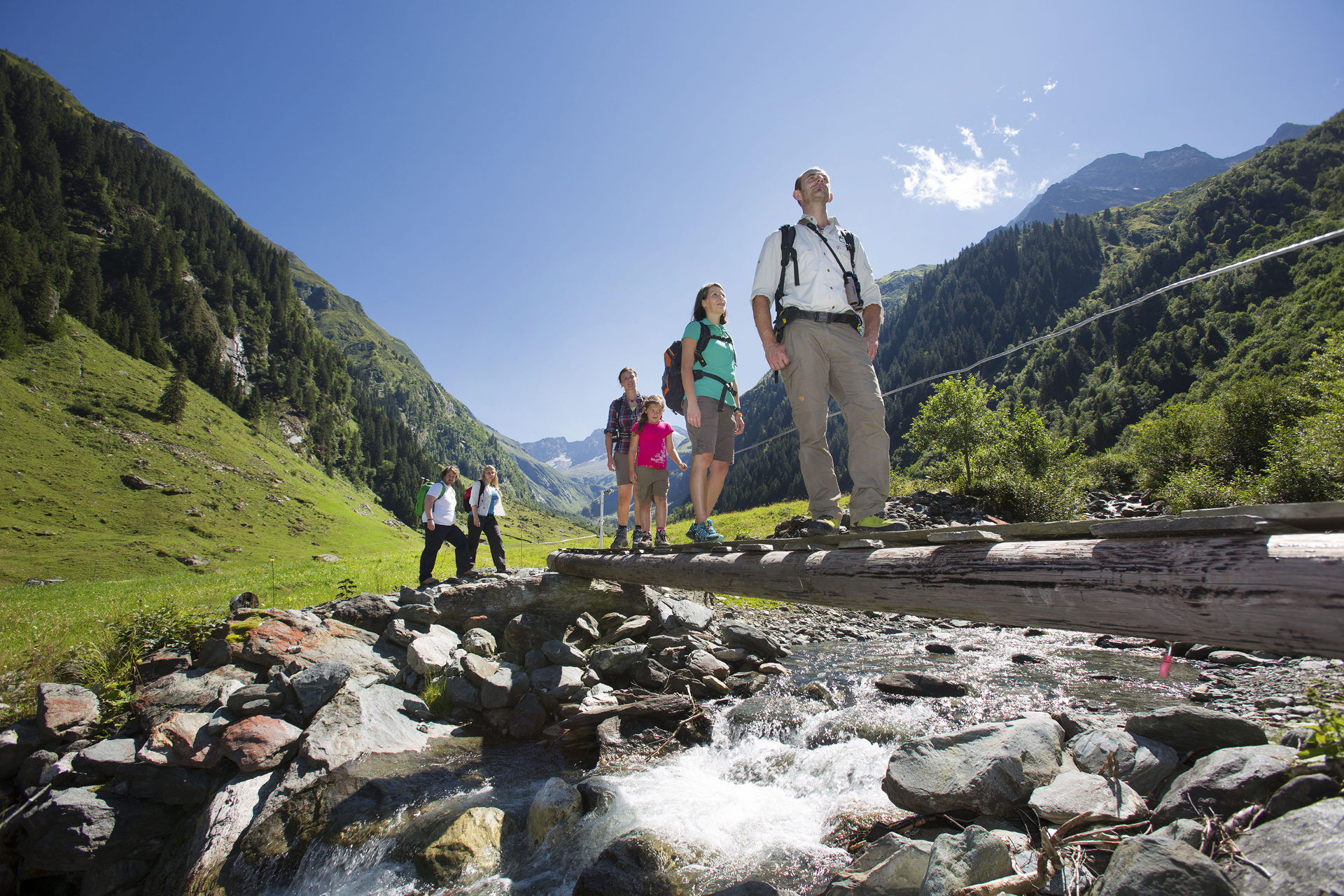 Hohe Tauern National Park In Salzburgerland