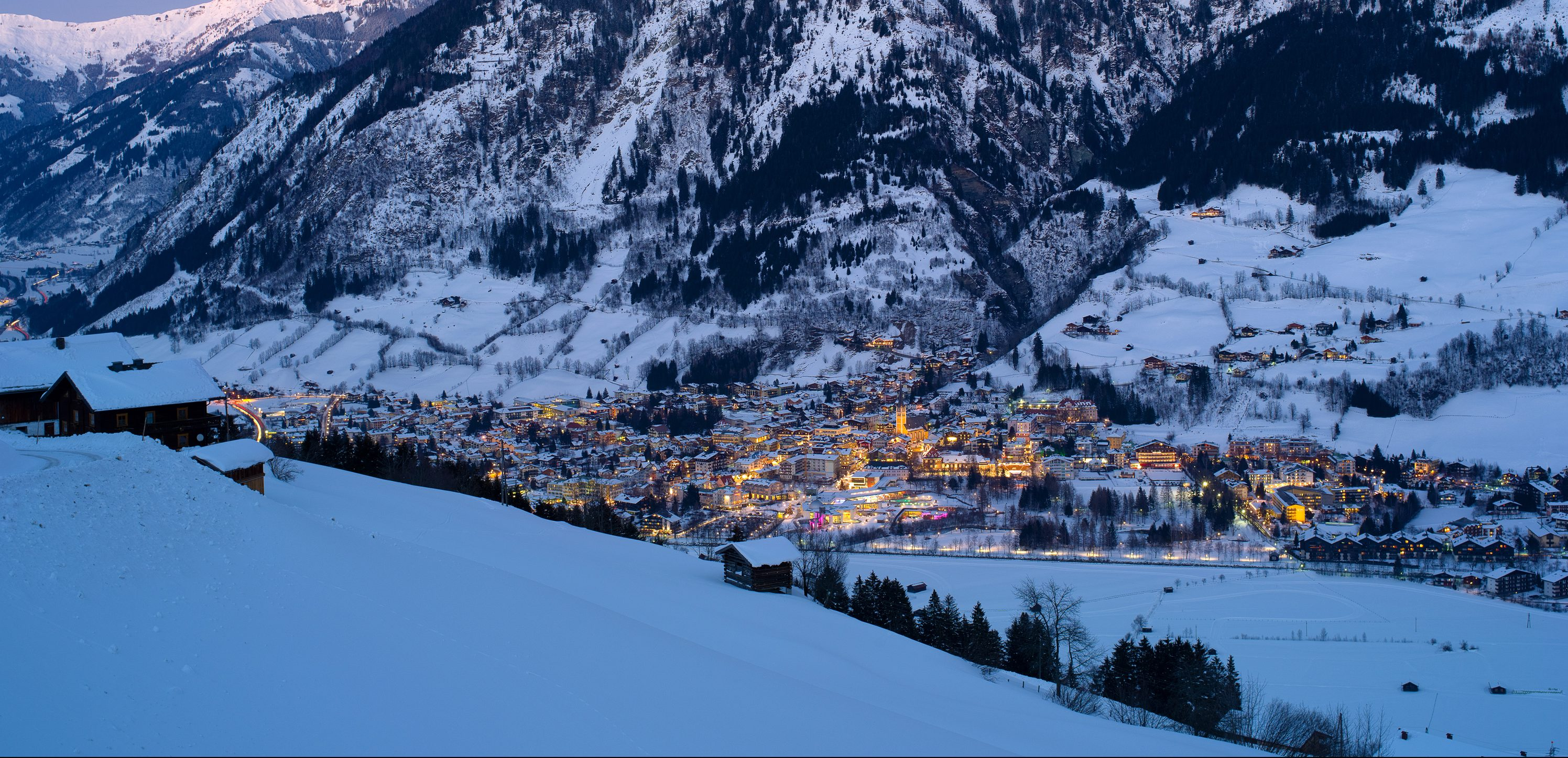 bad hofgastein for winter sports and spas