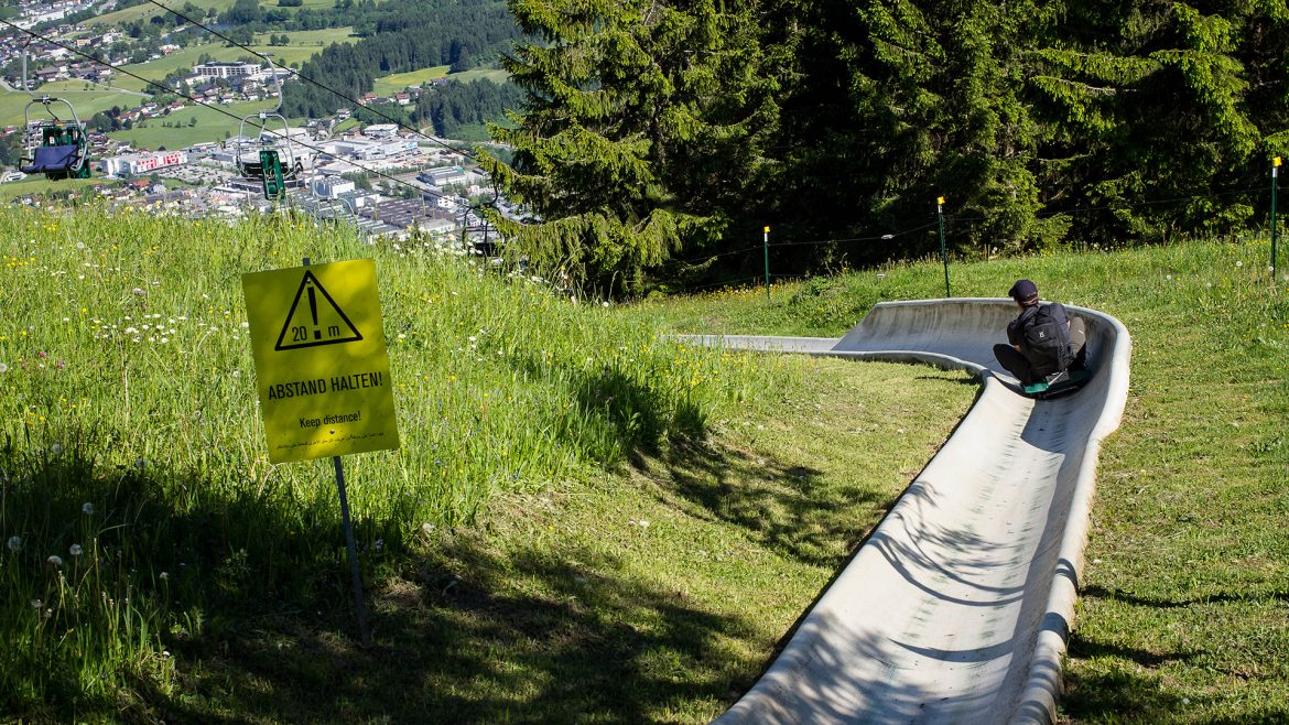 Leo Klang Summer Toboggan Run in Saalfelden