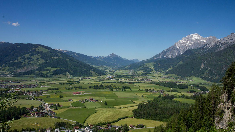 View from Einsiedelei in Saalfelden