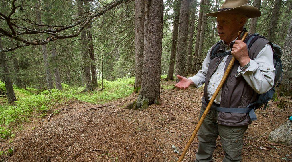 Nationalpark Ranger Hans