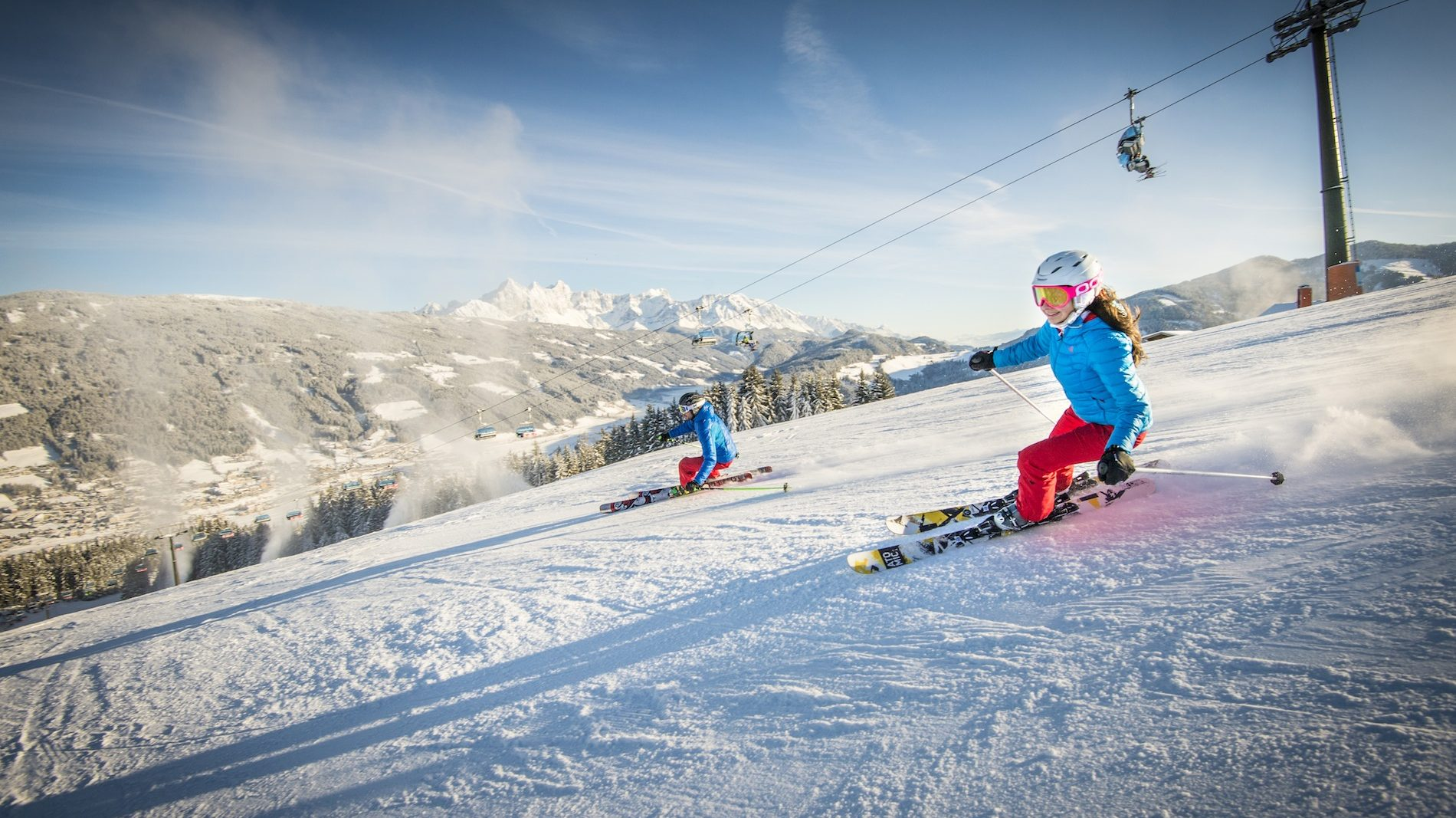 radstadt: old mountain town and sports paradise in winter and summer