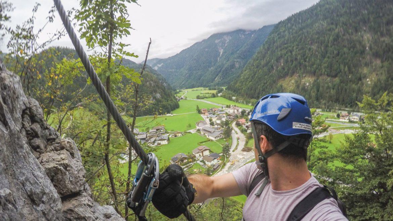 Climbing in Weißbach