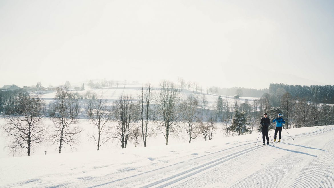 Countless kilometres of cross-country skiing trails