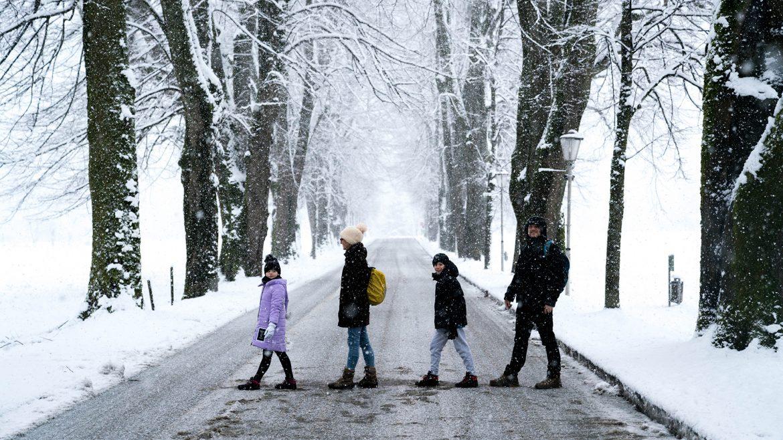 Bambini con la Valigia in Salzkammergut