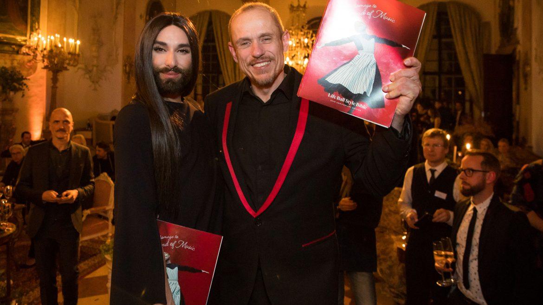 Sound of Music LifeBall 2018 Style_Bible Präsentation im Schloss Leopoldskron SalzburgerLand