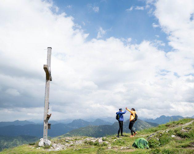 On top of Lackenkogel