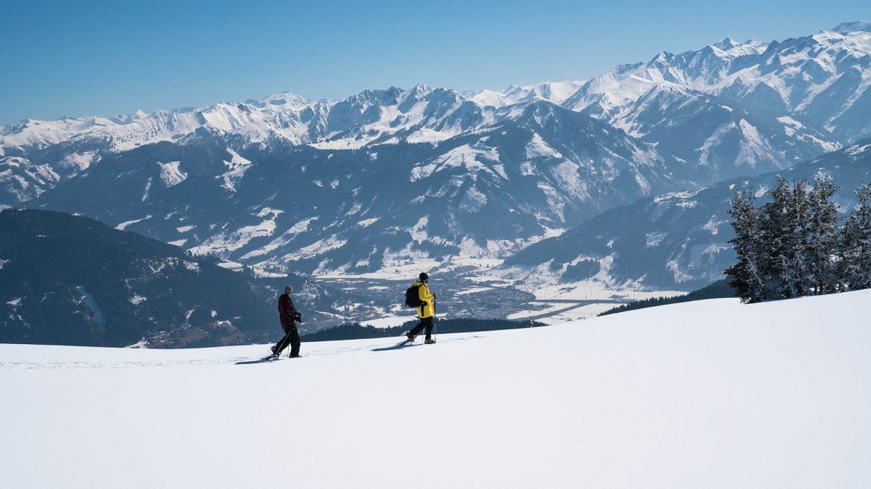 Snow shoe hiking in Zell am See-Kaprun