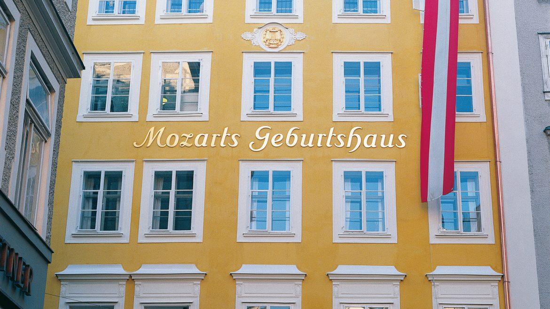Mozart szülőháza, Mozarts Geburtshaus