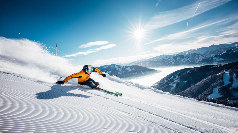 skifahren im Winterurlaub in Zell am See-Kaprun - Téli síelés Zell am See-Kaprunban