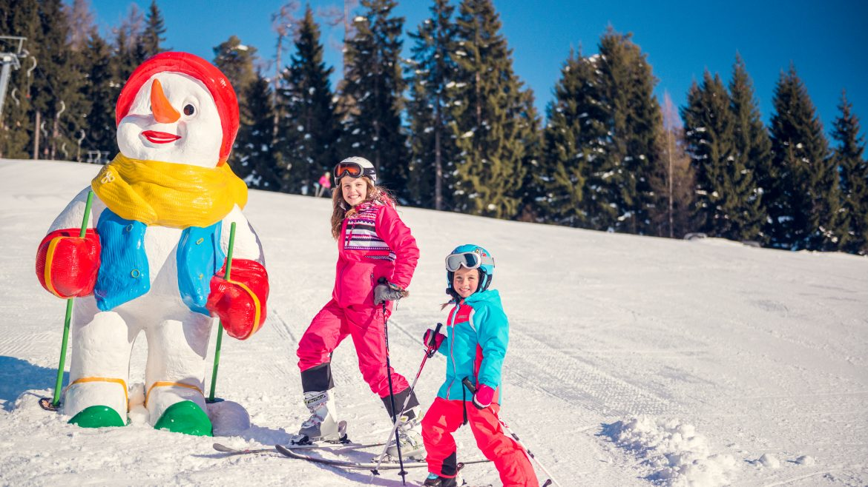 Gyerekek a Monte Popolo élményhegyén, Monte Popolo
