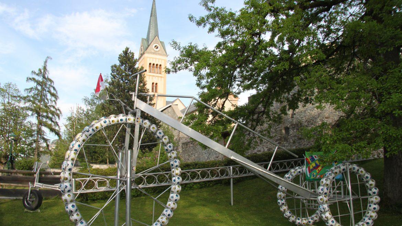 A Radstadt-i kerékpáros kert, Radgarten in Radstadt