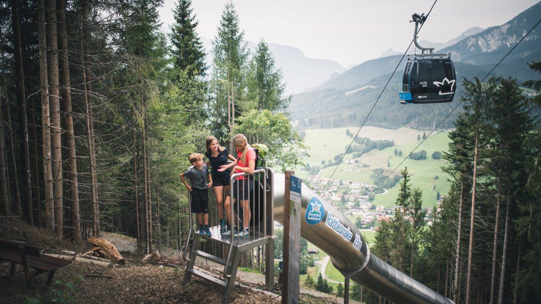 Erdei csúszdapark Maria Almban, Waldrutschenpark_Region Hochkoenig