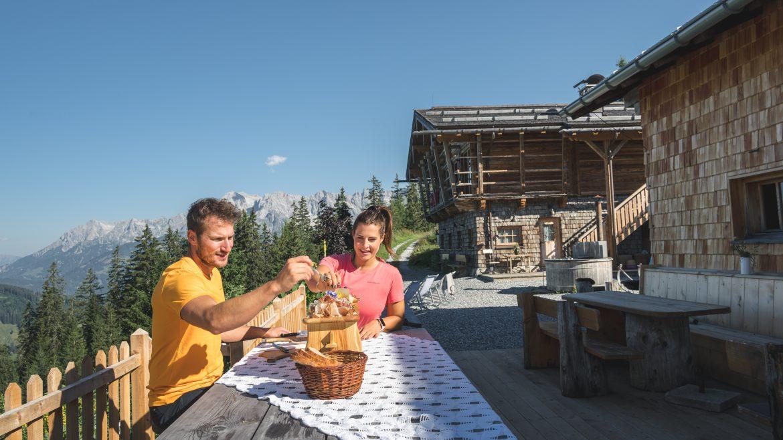 Különböző gasztrotúrák teszik teljessé az élményt a Hochkönignél, Kulinarik