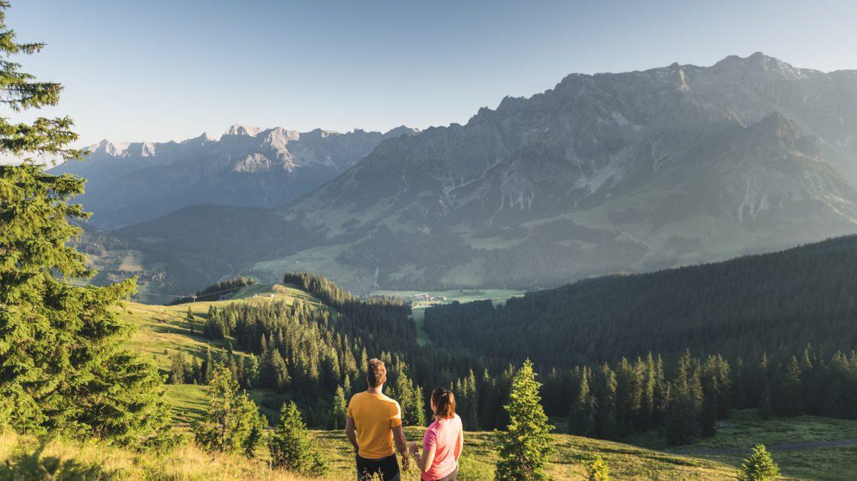 Idilli nyári túrázás a Hochkönig régiójában, Sommer Region Hochkönig