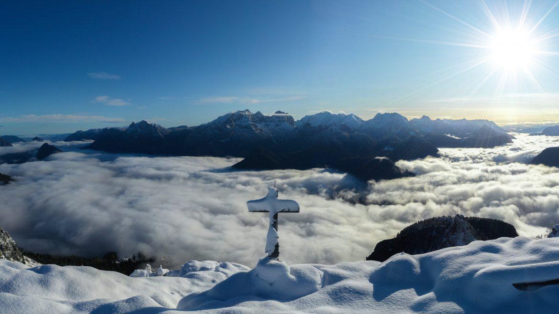 Salzburger Saalachtal Winter
